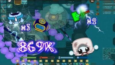 Starve.io Vampire Mode World Record|Ame Base|Dragon Gears| Super Hammers 869K