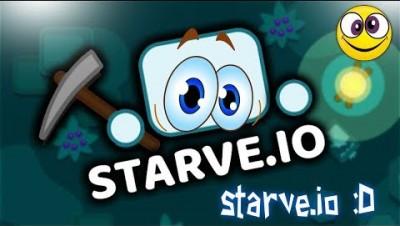starve.io-я играю в старв с призраком :D