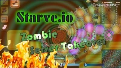 Starve.io Zombie Mode Amethyst Gear | Amethyst Base Gameplay | Massive Team | РУС