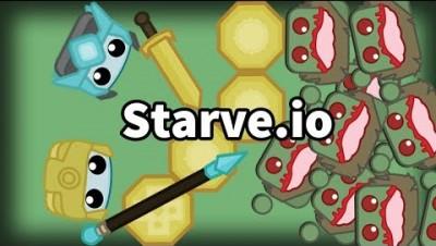 Starve.io - ZOMBIES VS HUMANS (Zombie Mode) Gameplay