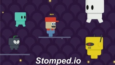 Stomped.io (New io Game Super Mario )