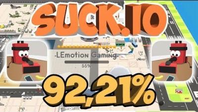 SUCK.IO NEW AIRPORT RECORD (92,21%)