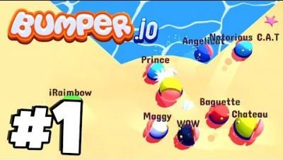 SUPER ADDICTIVE NEW .io Game | Bumper.io Part 1 (IOS/Android) | New Agar.io / Slither.io Game