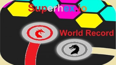 Superhex.io World Record Map Control:100.00%
