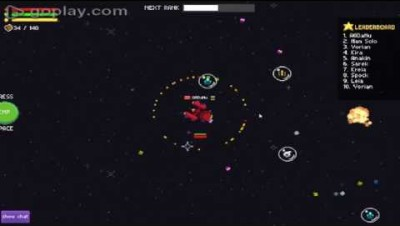SuperOrbit.io Max Lvl Ships GamePlay