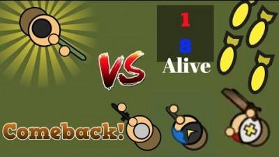 Surviv.io 1v8 Insane 50v50 Comeback!!! Medic Update In Surviv.io! (Surviv.io 50v50 v3 Event)