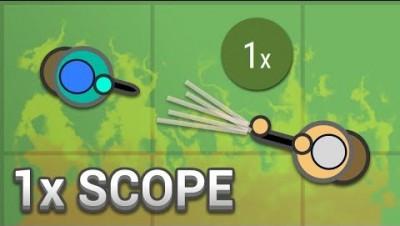 Surviv.io - 1x Scope/Low Fov Challenge