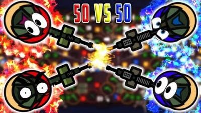 Surviv.io 2vs2 LAST SURVIVR Epic End Battle! (Surviv.io Giant Golden Airdrops & Funny Highlights)