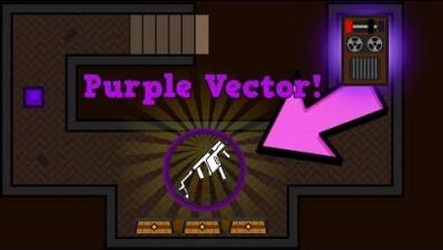 Surviv.io .45 Purple Vector In The Hidden Saloon Bunker! New Bunker/Town/Weapons Update!