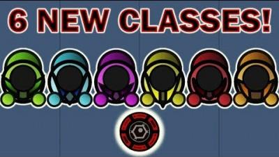 Surviv.io Class Update - Winning With Every Class! (6 New Surviv.io Classes)