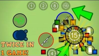 Surviv.io FINDING 2 15X SCOPES IN 1 GAME!!! + Channel Announcment (Surviv.io 15x Scope Gameplay)