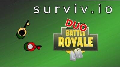 Surviv.io Gameplay - Duo w/ Bones