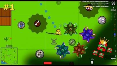 Surviv.io - Игра с Призраком