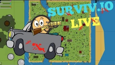 Surviv io LIVE / chicken dinner hunt    subscribe & join