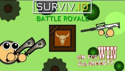 SURVIV.IO LIVE WITH RAJNOOBTV  / new update LOADOUT / Rush Gameplay || subscribe & join