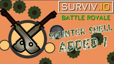 SURVIV.IO LIVESTREAM  / ADDED SPLINTER SHELL! ON SOLO MAP || SUBSCRIBE