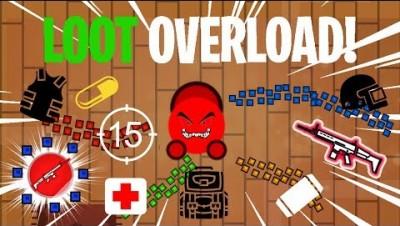 Surviv.io LOOT OVERLOAD & *RAREST* SQUAD SKIN Gameplay!! Livestream Winning Highlights With Fans