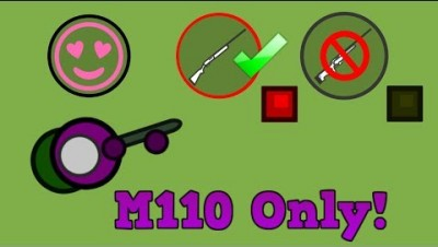 Surviv.io M110 Only! New Thanksgiving Update + High Kill Solo Squads...(Surviv.io Challenge)