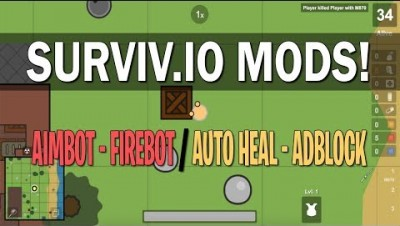 Surviv.io Mods,Hacks,Cheats 2018 Unblocked Survivio Gameplay