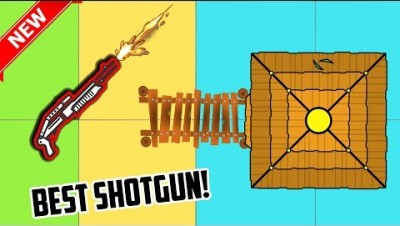 Surviv.io NEW BEACH HUT UPDATE AND BEST SHOTGUN IN THE GAME (SPAS-12)! Surviv.io Winning Gamplay!