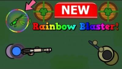 Surviv io New Broken Rainbow Blaster + St Patricks Day Event!! (Surviv.io Survivr Pass/Event Update)