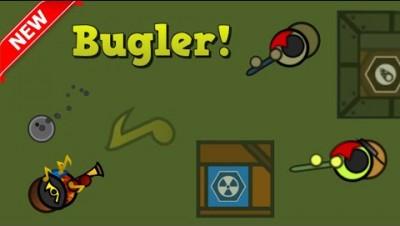 Surviv.io New Bugler Role in 50v50!! Super Scuffed Wins (Surviv.io Updated 50v50 Event)