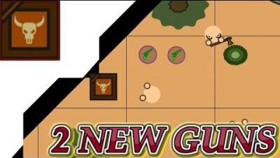 ▶ surviv.io NEW  Desert  update  2 NEW Guns  feat.【Dope,Cray】