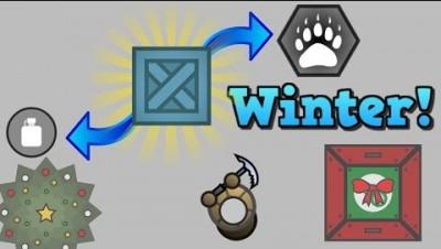 Surviv.io New Ice Pick/Winter Perks Update!! Solo Squads In Winter!