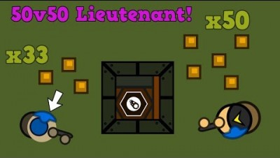 Surviv.io New Lieutenant In 50v50 Mode!! 50 Bullet Mac-10! (Surviv.io 50v50 Gameplay)
