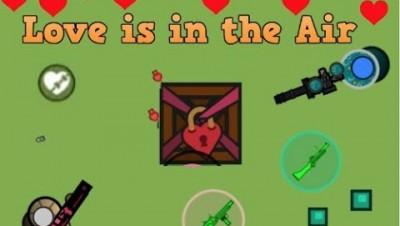 Surviv.io New Minigun and Basement in Valentines Day Event!!! (Surviv.io Weapons/Building Update)