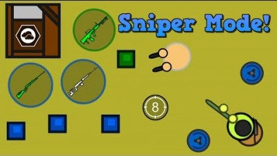 Surviv.io New Sniper GameMode & INSANE Perks In Exchange For Removing Fun From The Game!