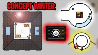 Surviv.io  NEW WINTER GAMEMODE CONCEPT IDEA!!  (Surviv.io Commentary & Stream Highlights)