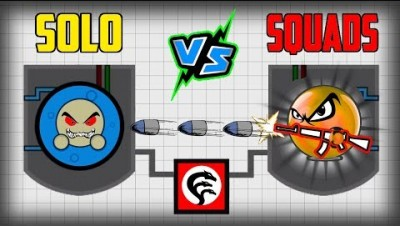 Surviv.io SOLO vs SQUADS In The New SECRET LAB UPDATE!! Most Overpowered Weapon vs Scientists