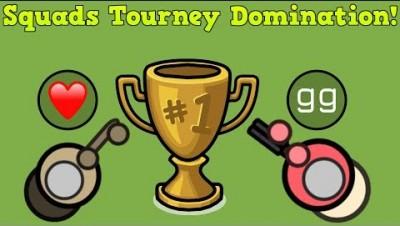 Surviv.io Squads Tourney Domination!! + 35 Kill Squad (I got carried...)