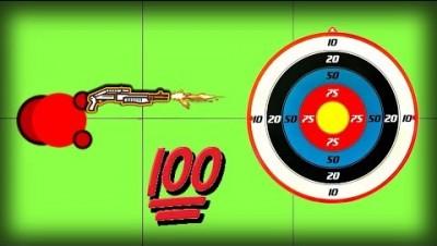 Surviv.io TARGET PRACTICE CHALLENGE!! Most  Underrated Weapon  on Surviv Battle Royale!!