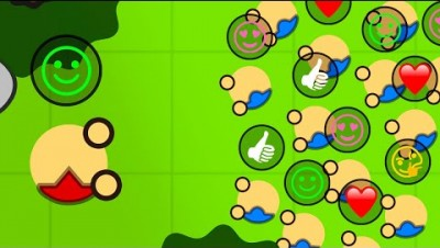 Surviv.io TEAMING WITH THE OTHER TEAM! | BEFRIENDING 50 PLAYERS IN 50v50 MODE! | Surviv.io 50v50