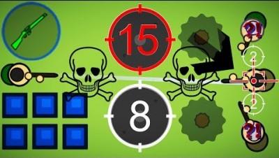 Surviv.io - The Best Sniper in Surviv.io - Winning & Best Kills with Sniper (Mosin Nagant)