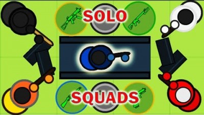 Surviv.io - The Best Solo Squad Domination with Underrated Weapons (Volume 2)