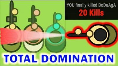 Surviv.io - The Dominator: 15+ Kill Streaks (Surviv.io Highlights)