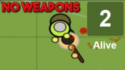 Surviv.io - The No-Weapons Challenge - Winning By Only Punching!