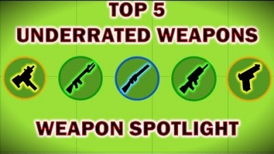 Surviv.io - Top 5 Underrated Weapons - Weapon Spotlight