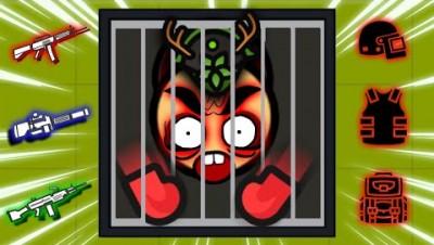 Surviv.io TRAPPING WOODS KING in HATCHET BUNKER! (Surviv 1 vs 1 Final Battle)