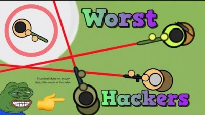 Surviv.io Worst Hackers Ever?? Tourney/Customs Highlights and Gameplay!