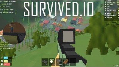 SURVIVED.IO UPDATE & Sniper mode & 20 Min of Survival Gameplay