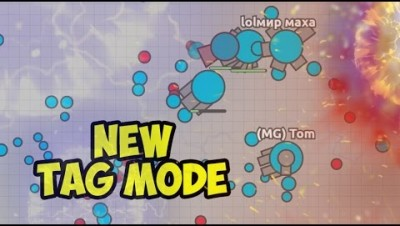 TAG NEW GAME MODE IN DIEP.IO! BOOSTER TROLLING | NEW UPDATE