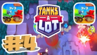 TANKS A LOT GAMEPLAY NEW WEAPON NEW ARMOR PART 4