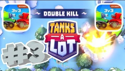 TANKS A LOT GAMEPLAY WALKTHROUGH PART 3 | BATTLE ROYALE MODE