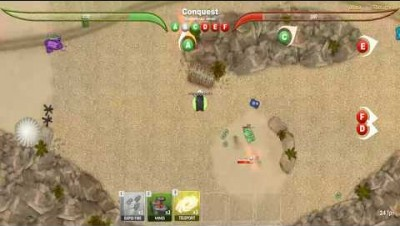 TankWars.io Conquest Gameplay