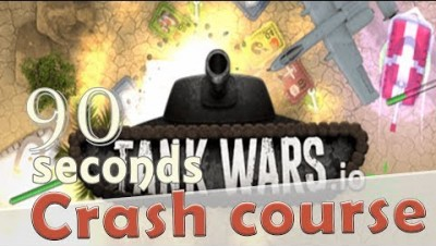 ✔ TankWars.io in 90 seconds! ( Tip & Tricks included ) | #Random.io Crash Course 24 | TankWarsio