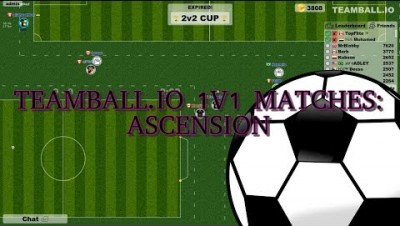 Teamball.io 1v1 Matches: Ascension